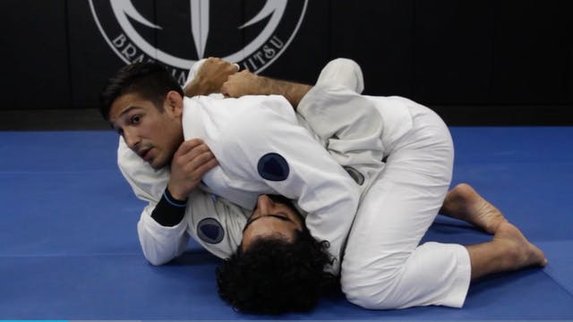 Step Over Arm Bar From Side Control