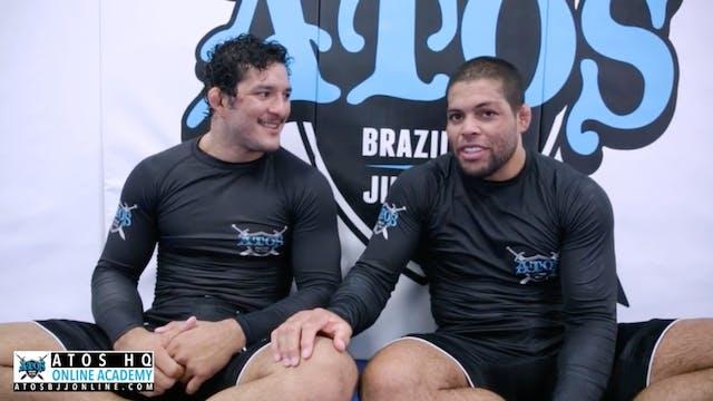 Galvao Interviews The Champ Lucas Bar...