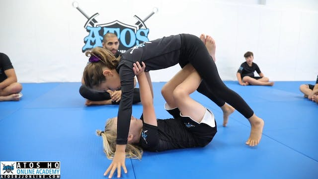 Butterfly Guard to Single Leg X Entry