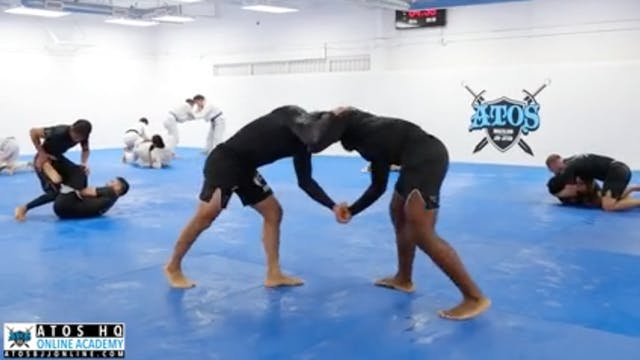Comp Class Sparring: Lucas Barbosa vs...