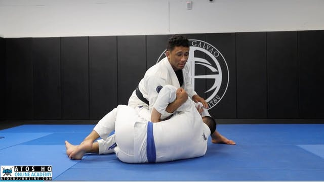 Basic Step Over Arm Bar From Knee On ...