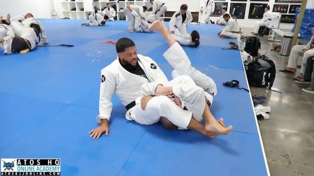 Sparring: Andre Galvao vs Josh Wilson
