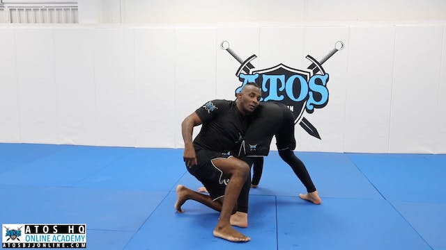 Double Outside Elbow Control Tie to Duck Under
