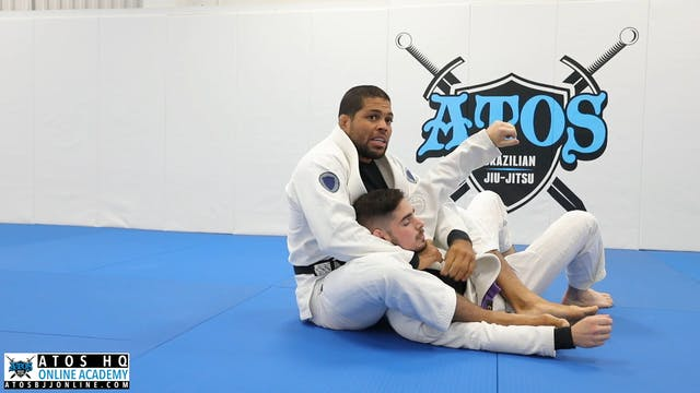 Crab Ride From DLR Guard to Leg Drag Back Take Using The Twister Hook