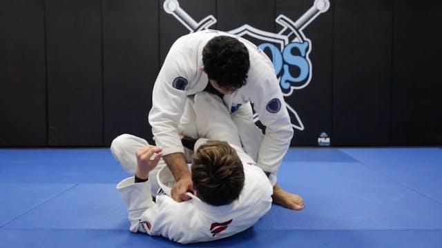 Side Smash Pressure  Worm Guard Pass