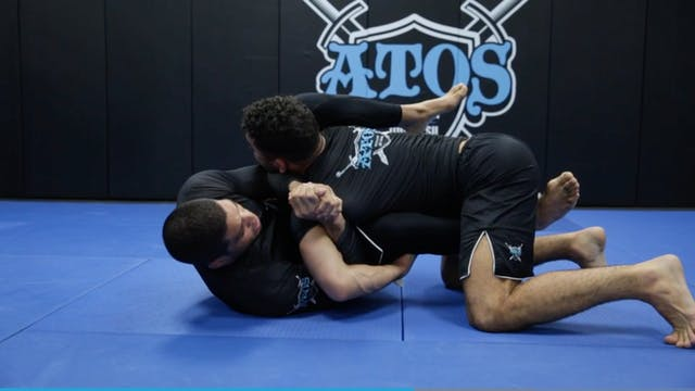 Arm Bar From Over Under Defense