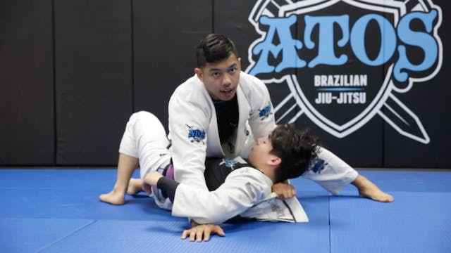Back Take From Half Guard With The Br...