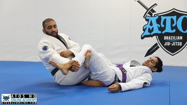 Two 50/50 Guard Escape Variations