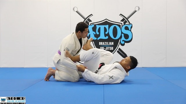 Basic Spider Guard Sweep