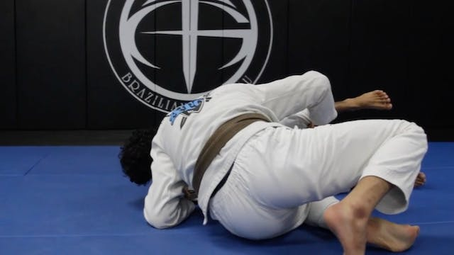 Basic Long Step Pass from Half Guard ...