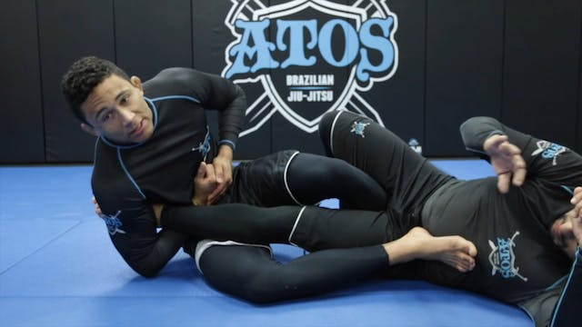 Straight Ankle Lock From One Leg X Guard