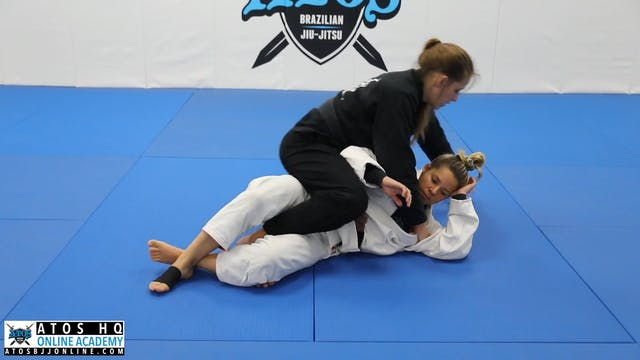 Back Take From Reverse Half Guard