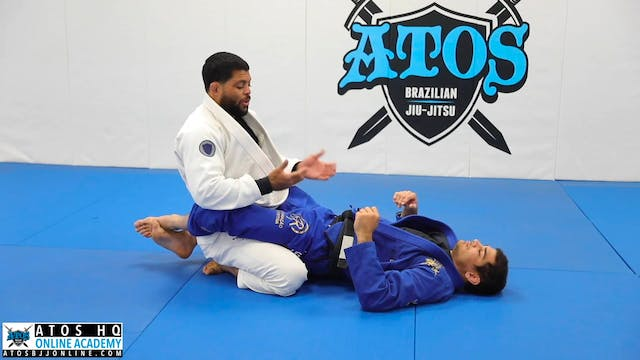 Safest Closed Guard Opening