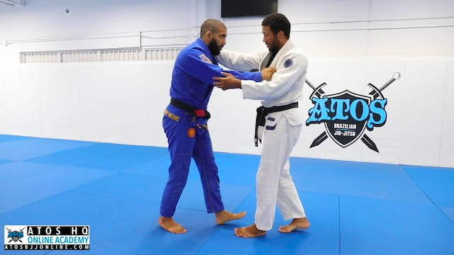 Attacking Foot Sweep
