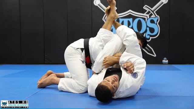 Arm Bar When Opponent Defends Cross C...