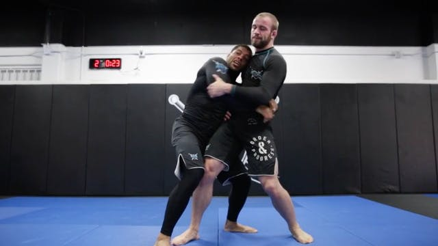 Two On One Grip Outside Duck Takedown...