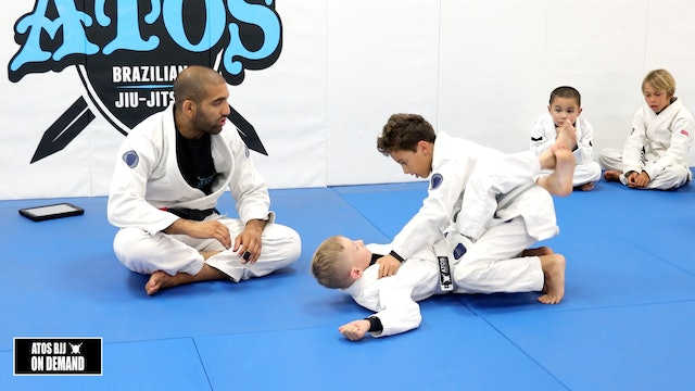 Passing Closed Guard When They Control Your Head - Kid's Class