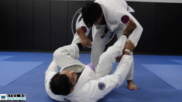 Basic Triangle Attack From Spider Guard