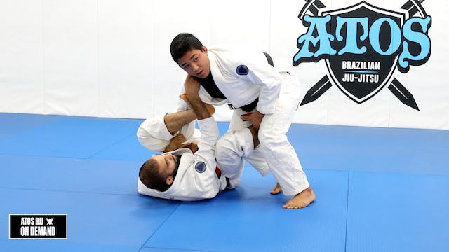 Long Step to Knee Cut from Lasso Guard
