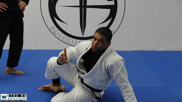 Stack Pass Defense to K Guard + Ankle Lock or Double Leg Takedown