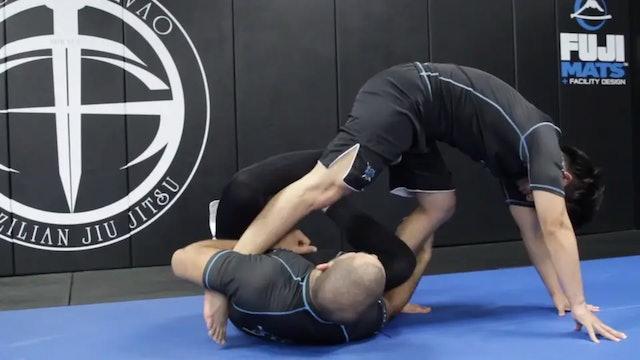 Sweep From Single Leg X Guard