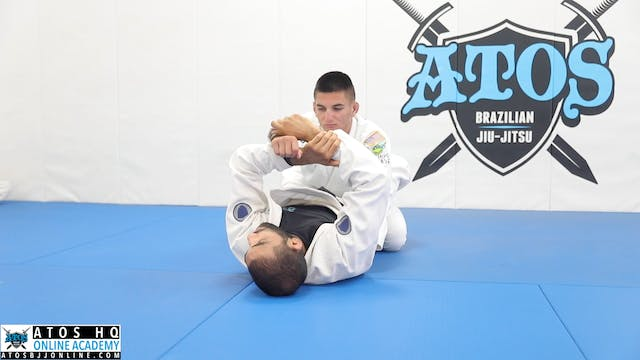 Arm Drag From Closed Guard to take th...