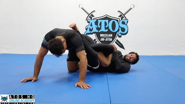 Takedown Warm Up + Outside Heel Hook Attack From Deep Half