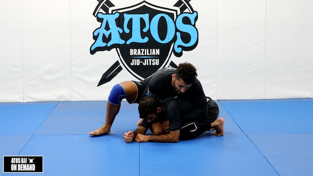 Front Head Lock to Crucifix