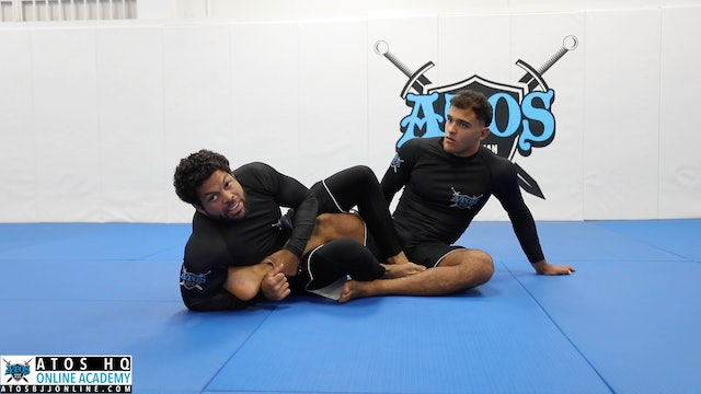 Scorpion Heel Hook From 411 Position | Counter Attack Over A Counter Attack