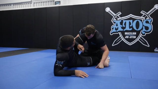 Modified Arm Drag Back Attack From Kn...