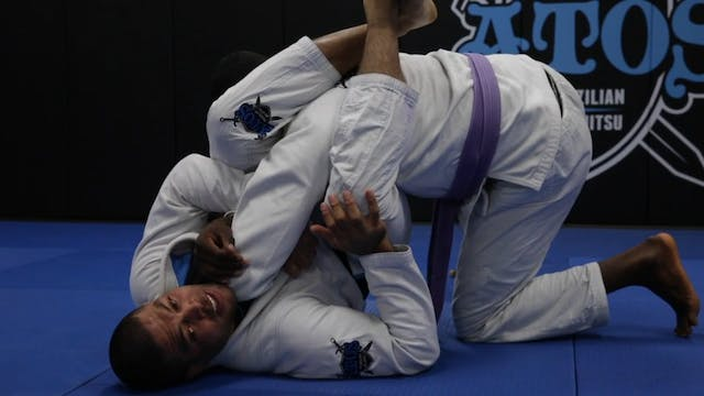 Arm Bar From Closed Guard + Triangle ...