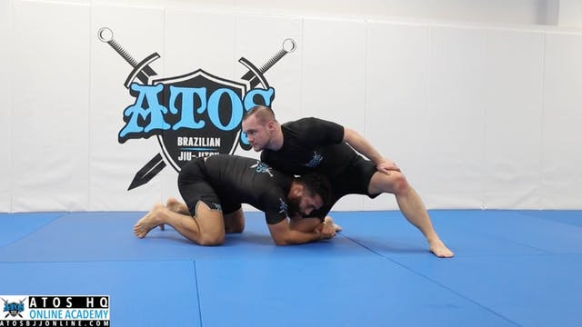 Single Leg Recovery When Opponent Spr...