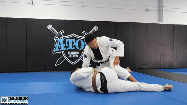 Sweep From Sit Up Guard