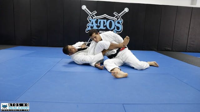 Strong Arm Bar From Back Control with...