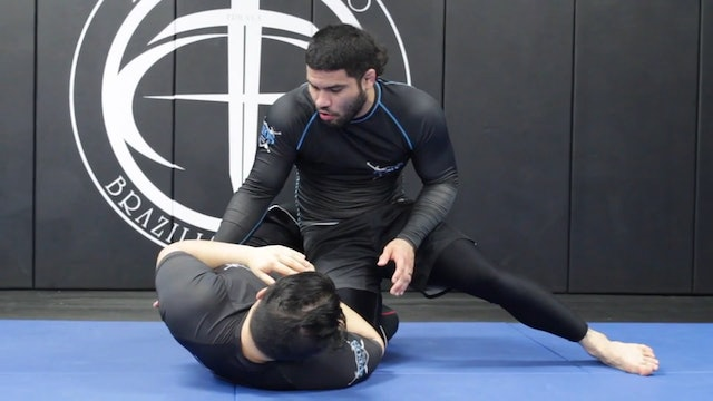 Knee Cut From the Half Guard