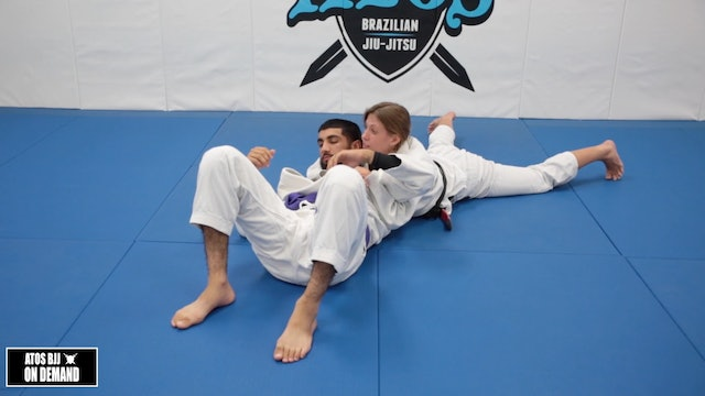 Triangle Armbar from the Back Part 2 - Kids Class 8-13 yo