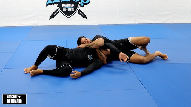 D'arce Choke Attacks from 3 Different Situations