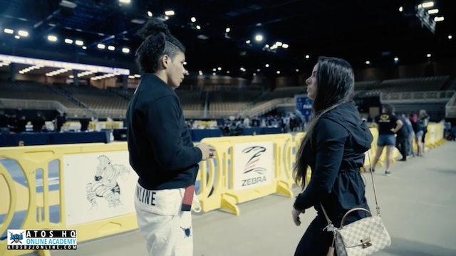 2020 Pan Double Gold Champ: Rafaela Guedes Black Belt Debut