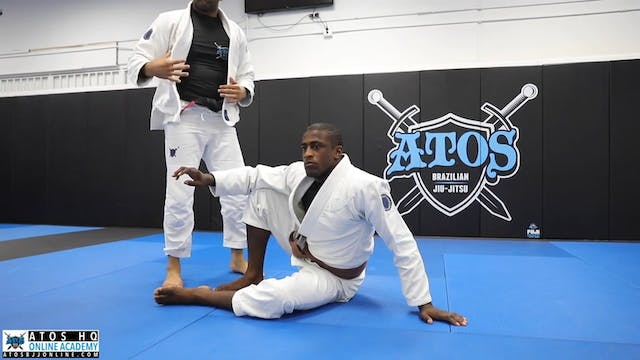 Squid Guard Sweep From DLR + Knee Bar