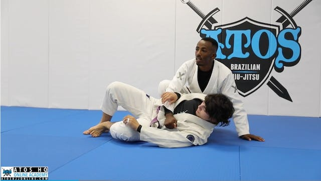 Back Take From Side Control With Lape...