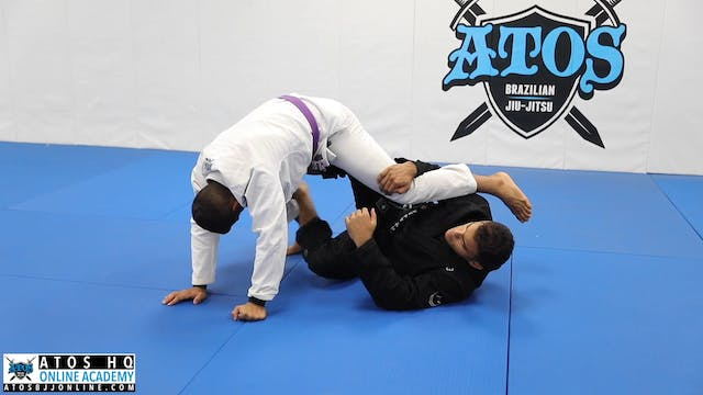 Elevator Position to X Guard Sweep
