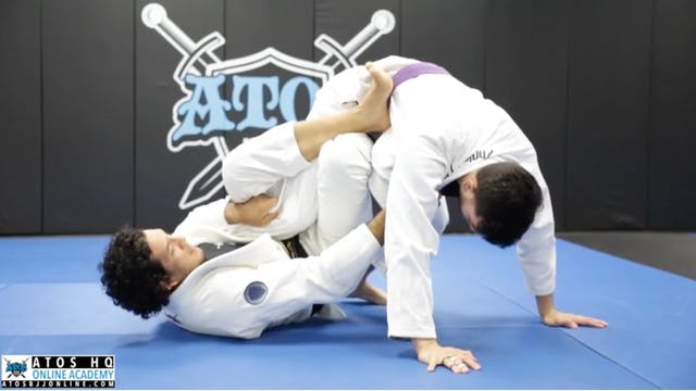 Single Leg X Entry from DLR + Stand U...
