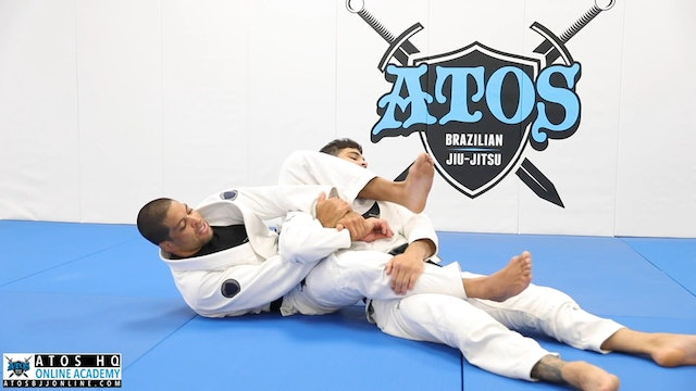 Basic Arm Bar From The Back - Concepts & Details