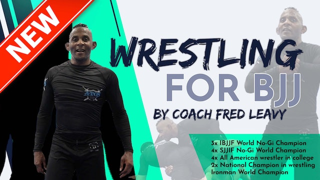 """""""Wrestling For BJJ"""" Vol 2. 2 on 1 The Russian Tie"""