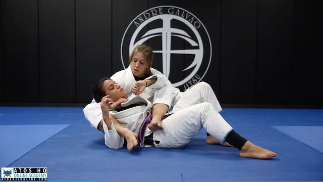 Back Take from Arm Drag + Bow and Arr...