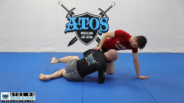 Knee on Belly Off Balance