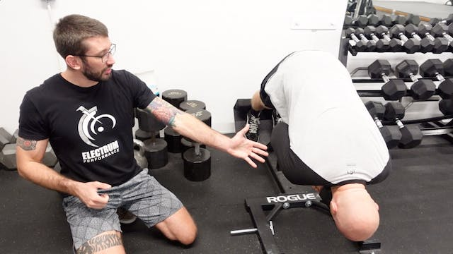Local Muscular Endurance - 10% DB Back Extension