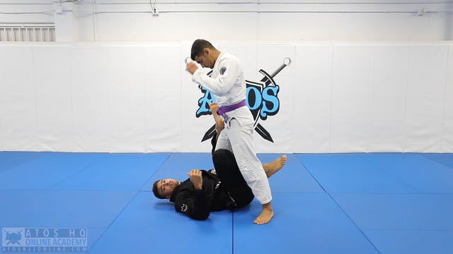 Inverted X Guard to Honey Hole