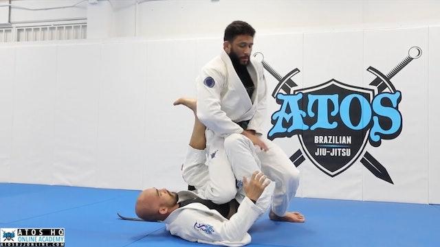 Single Leg X Counter Attack Using The Pretzelbolo