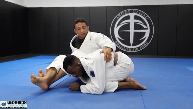 Omoplata from Side Control Guard Reco...
